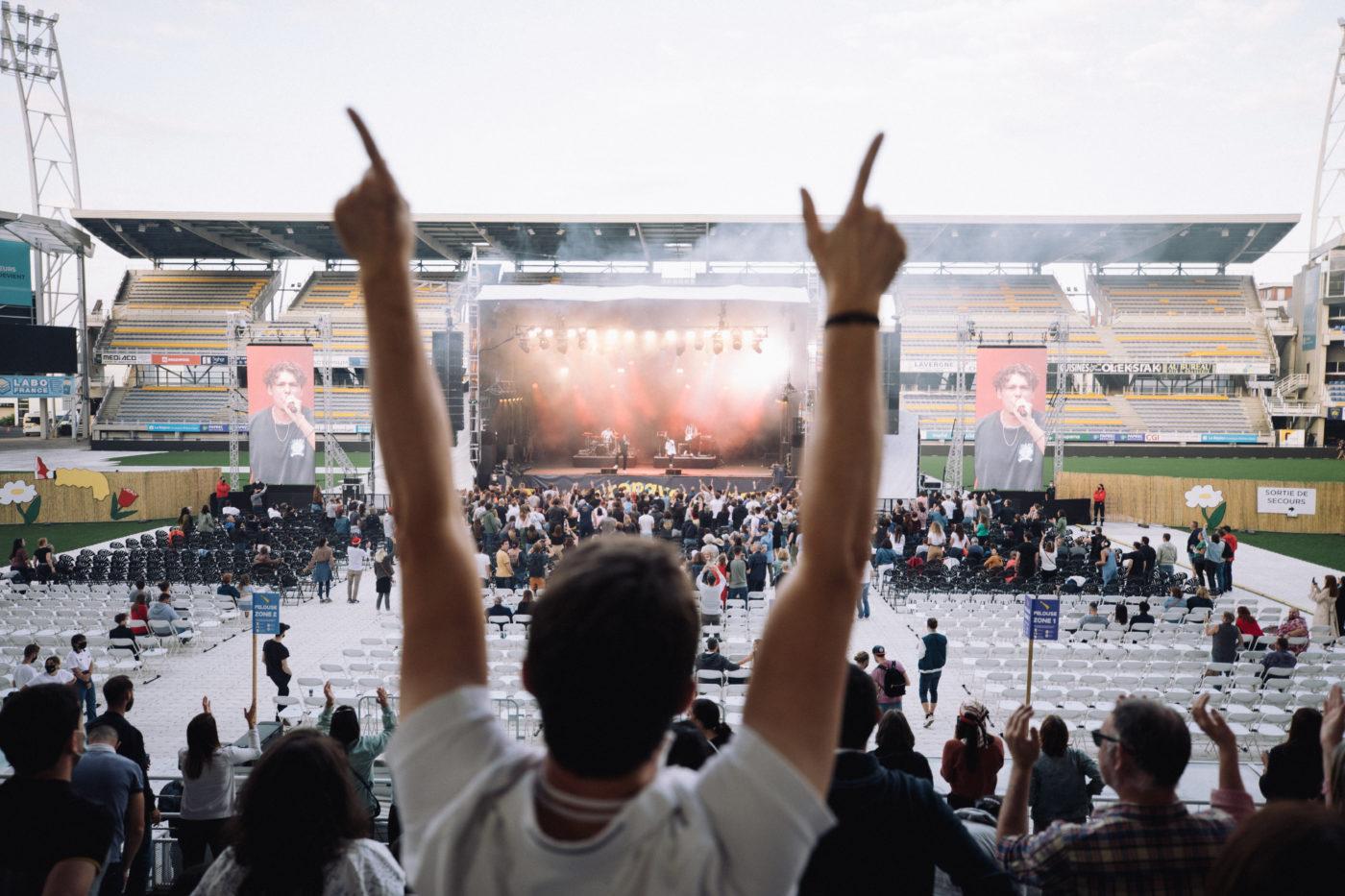 Retour en photos sur la première journée de festival Europavox